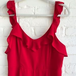 ❤️ Forever 21 Red Dress size Large ❤️